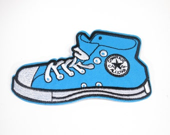 "Iron-on ""sneakers"", applique, application (P40)"
