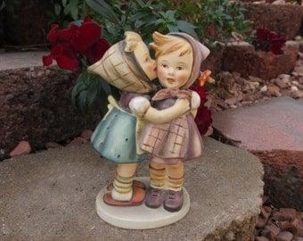 """Hummel Figurine - """"Telling Her Secret"""" - Vintage"""