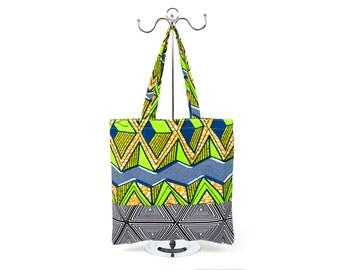 African Tribal Print Tote Bag