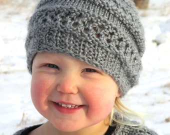 KNITTING PATTERN  Hat - PDF knitting pattern hat - knit pattern baby hat - knit pattern toddler hat