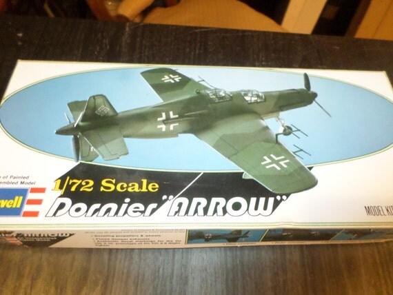 Vintage 1978 Model Kit Revell Dornier Arrow 1 72 Scale New In