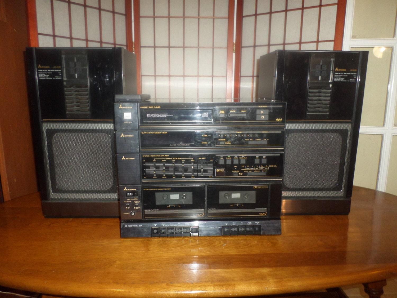 mitsubishi da 60r cd st r o de maison r cepteur audio syst me. Black Bedroom Furniture Sets. Home Design Ideas