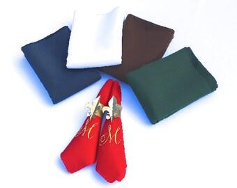 Sooo Fancy Monogrammed Napkins Set of 4 napkins