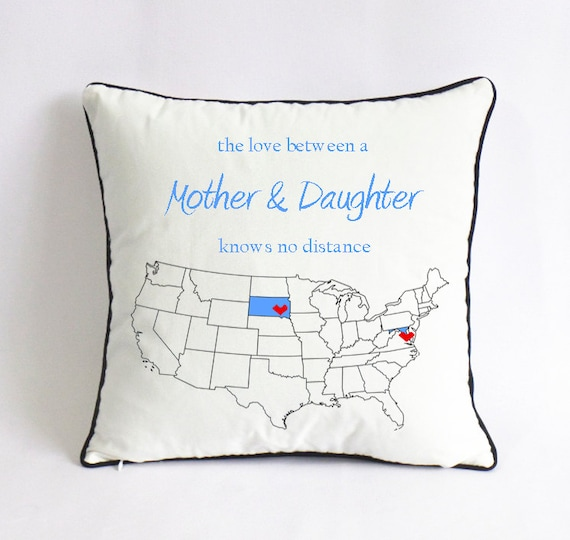 mom daughter cushion-mom birthday gift-mothers day gift for daughter ...