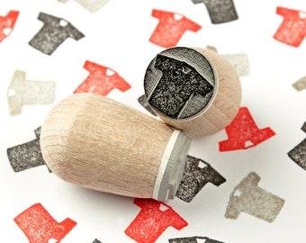 Jersey - mini stamp Ø 1,4 cm