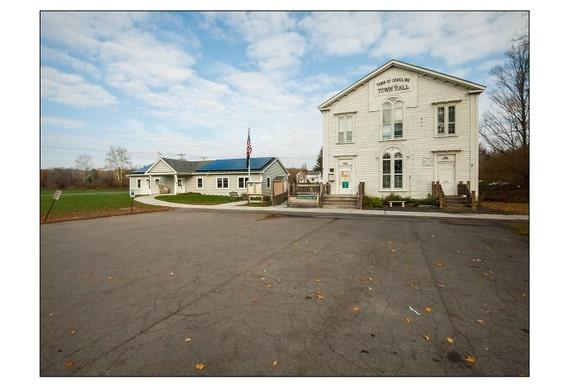 October 25, 2014 - Town Hall & Library - Caroline, NY