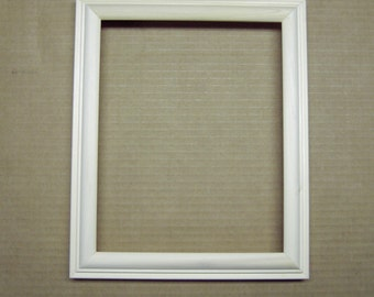 8 x 10 Unfinished Poplar Picture Frame Deep Profile