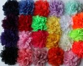 3 inch flowers for headbands or clips