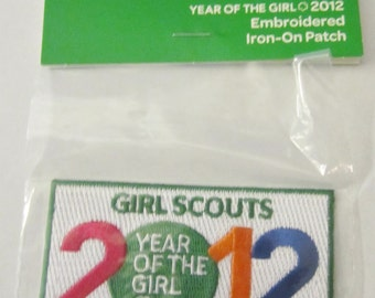 "Girl Scout Fun Patch ""2012 Year of the Girl""/CLEARANCE"