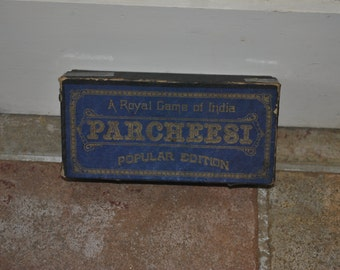Vintage Toy Parcheesi game - 1918 antique board game
