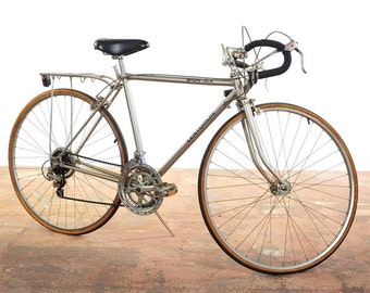 Centurion Sport DLX - gorgeous silver vintage Bicycle 1984 Made in Japan