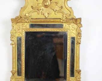 19th Century Fabulous Italian carved Giltwood Mirror c.1820/40s -WOW!!