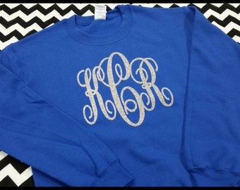 Adult Large Monogram Sweatshirt