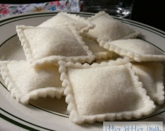 Ravioli Felt Pasta
