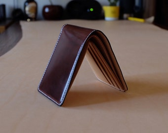 MILDY HANDS - SW01 - Short Wallet ( Shell Cordovan ) Antique / Nature