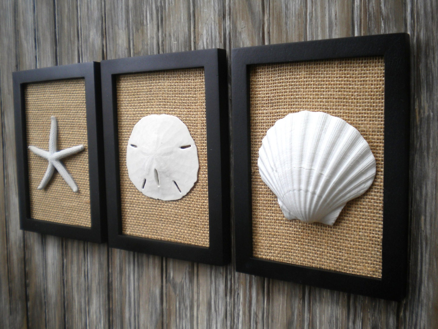 Cottage Chic Set Of Beach Decor Wall Art Bathroom DecorBeach
