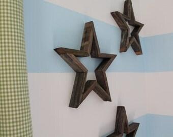 Rustic Wooden Star, Wood Star, Americana Star