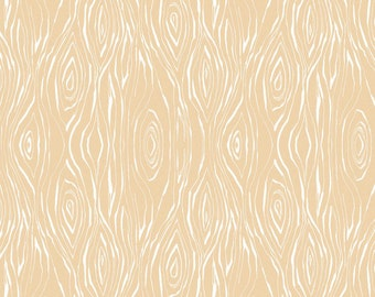 Good Company Plank Beige by Blend Fabric by the Yard Wood Grain Fabric