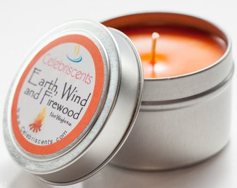 Earth, Wind and Firewood-burning soulful scent and true fire-wood-burning romantic aroma.  This is one soul soother for all year-round.