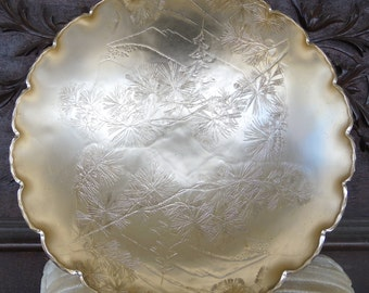 Vintage Hammered Aluminum Bowl by Arthur Armour