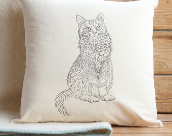 Cat Cushion Cover