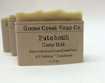 Patchouli Hemp Milk Soap