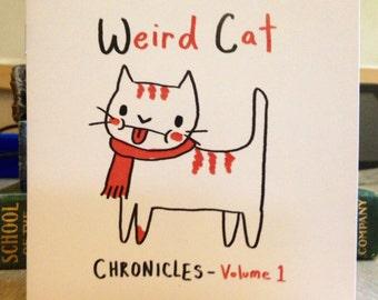 Weird Cat Chronicles Volume 1 (comic book)