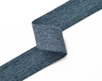 """1-1/2"""" Elastic Stretch Ribbon Trim, Stretch Elastic Band, headband, hand band and waist belt by 1-yard, TR-10996"""