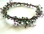 Lavender Bush Floral Crown