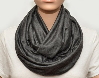 Dark grey Infinity scarf