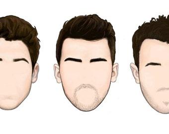 Jonas Brothers Minimalist Sticker