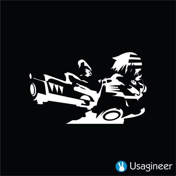 soul eater the kid anime decal sticker by usagineer