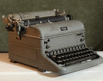 Vintage Royal Heavy TYPEWRITER Touch Control Mid Century Collectible Prop Decor