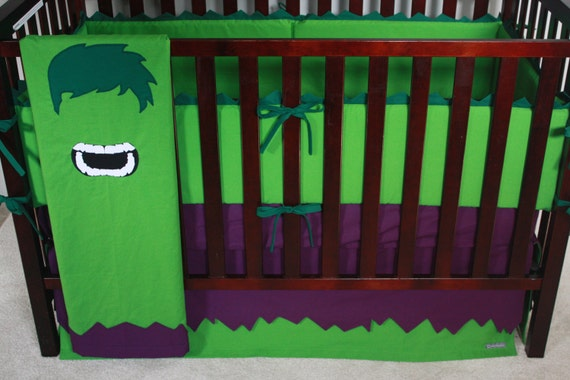 marvel avengers baby beddingthe hulkcustom crib