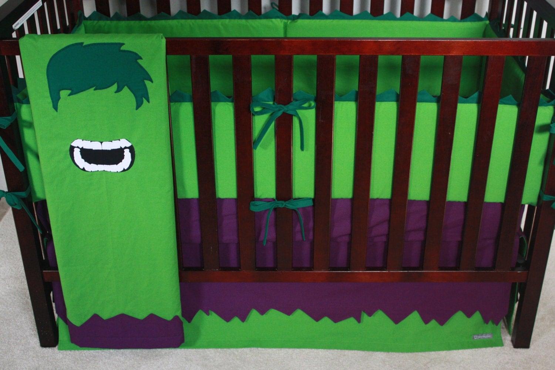 Marvel crib bedding | Etsy
