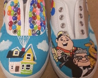 Disney Up inspired shoes