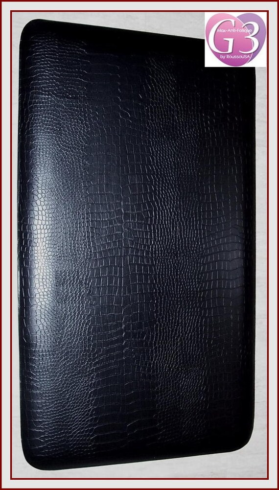 Gel Anti Fatigue Kitchen Mat In Black Rubberized Gel Foam 20 Wide By