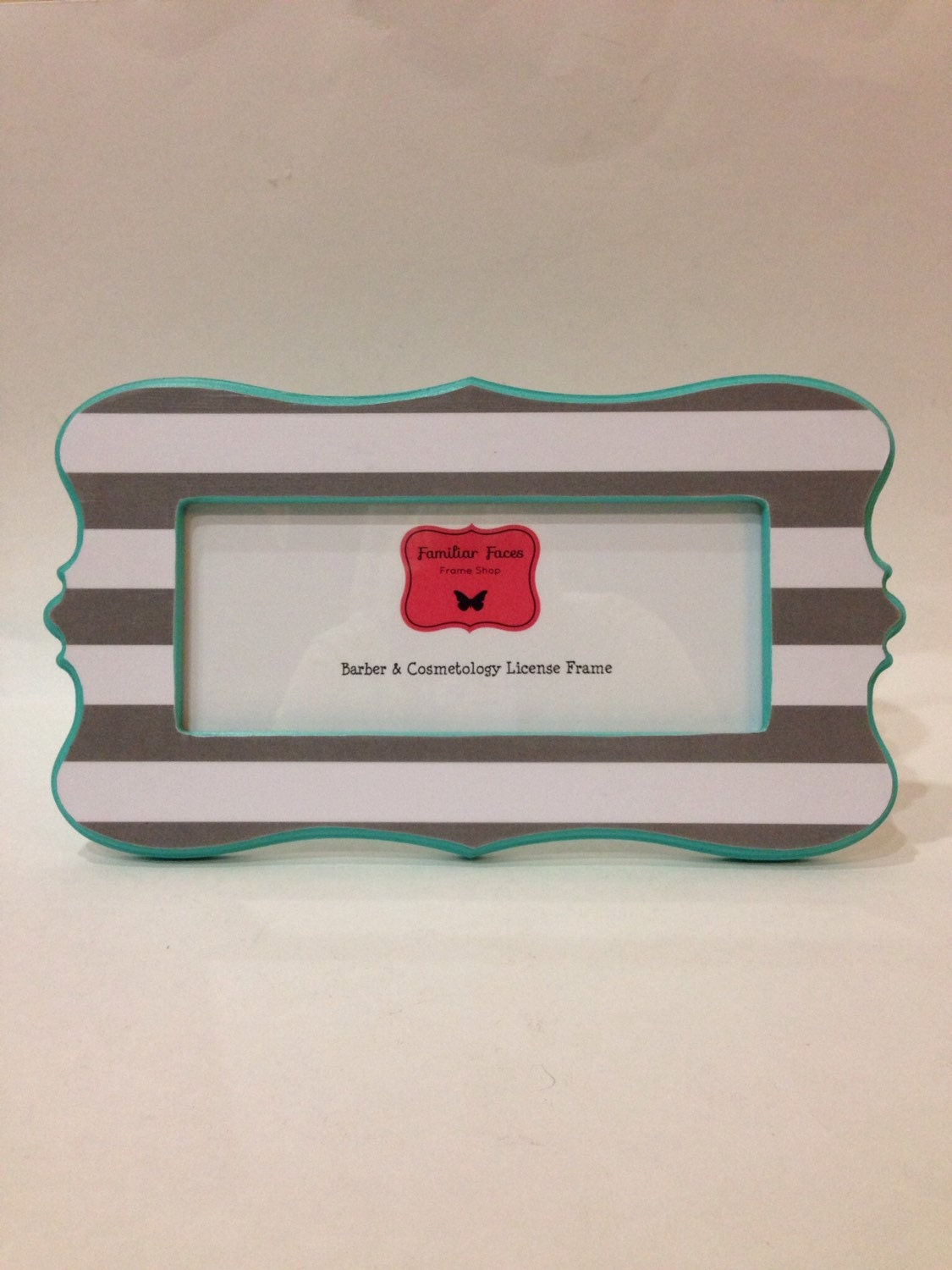 Barber & Cosmetology License Frame Gray and by ...