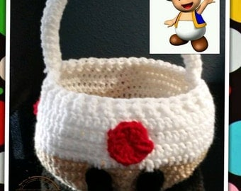 Super Mario Brothers Toad Basket.