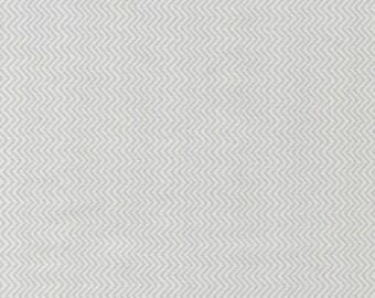 Mini Chevron Stripe - Grey, Sea Babes, from Timeless Treasures