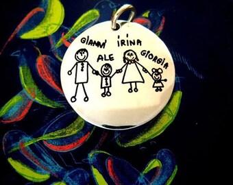 Medal of the family, family, my children