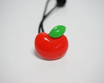 Apple Ponytail Holder,