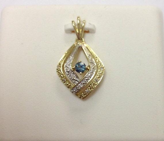 Alexandrite Diamond Pendant Natural Alexandrite In By