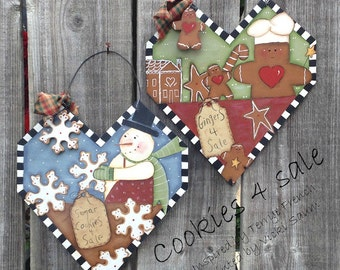 Cookies for Sale - Vicki Saum, Painting With Friends E Pattern