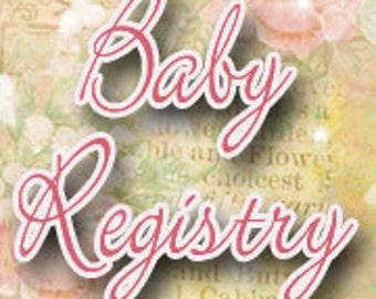 Custom Crib Bedding Set Registry for ********
