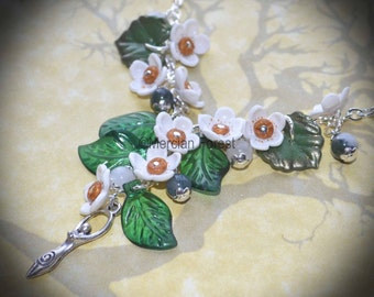Maying Hawthorn Necklace - Pagan Jewellery, Beltane, Wicca, Handfasting, May Day