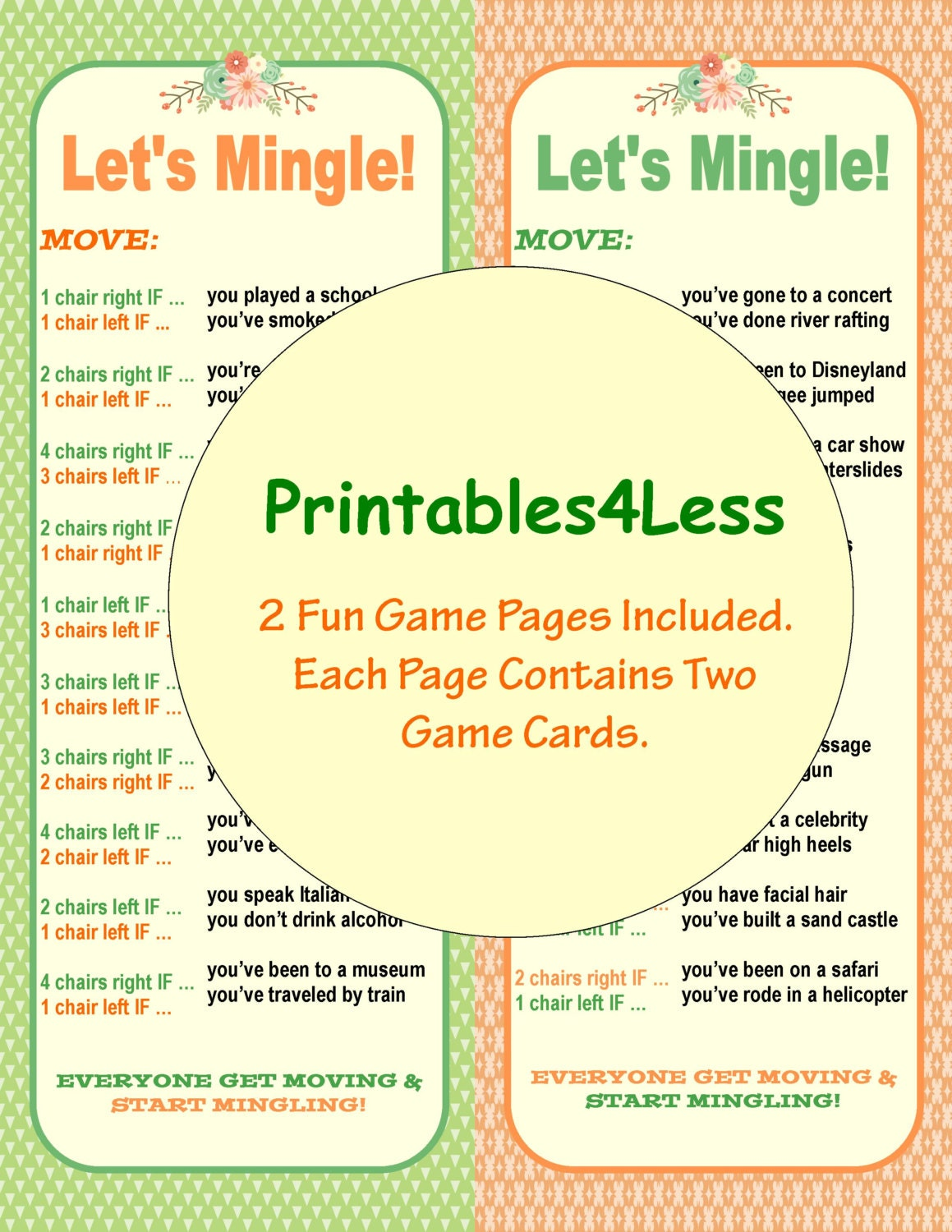 ice breaker game diy printable party game diy fun printable