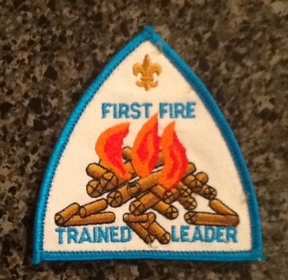 Trained patch boy scouts