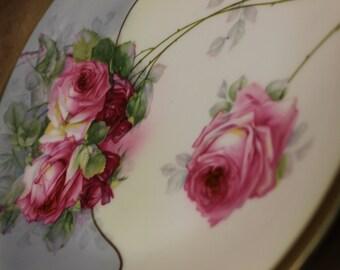 Zeh Scherzer & Co. c.1880-1900 Cake Plate