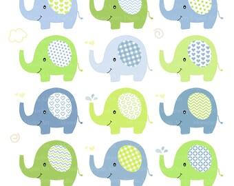 Artículos populares para clipart elefantes